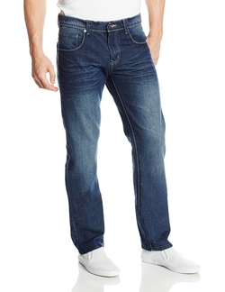 Southpole - Slim Straight-Fit Denim Jeans