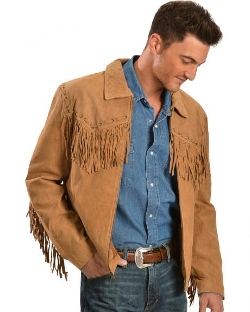 Scully  - Fringed Suede Leather Short Jacket