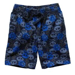 Jumping Beans - Printed Canvas Shorts