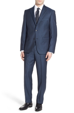 Nordstrom - Classic Fit Solid Wool Suit