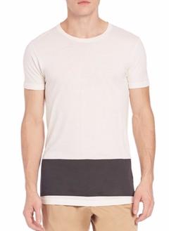 Tomas Maier - Contrast Crewneck Tee Shirt