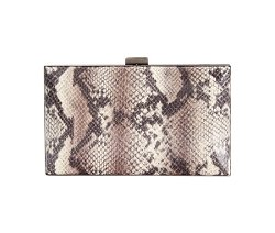 Sondra Roberts  - Snake Box Clutch Bag
