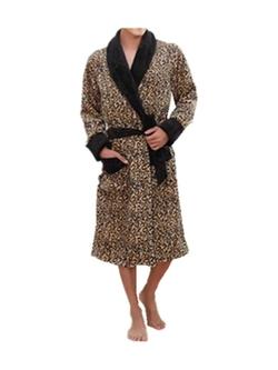 Leright - Leopard Print Robe