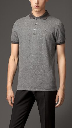 Burberry - Contrast Tipping Detail Polo Shirt