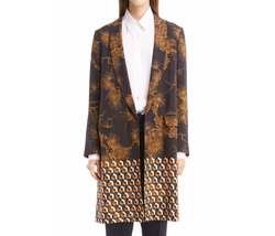 Dries Van Noten - Mix Print Coat