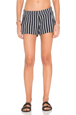 Michael Lauren  - Jango Stripe Shorts