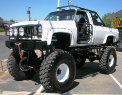 GMC - 1974 K10 3500 Monster Truck
