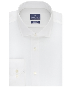 Ryan Seacrest Distinction - Non-Iron Solid Dress Shirt