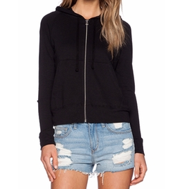 James Perse - Classic Zip Up Hoodie