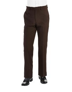 Ralph Lauren  - Classic Fit Mid-weight Flat-front Wool Trouser Pants