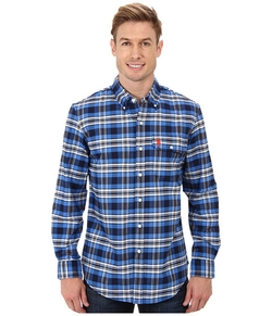 U.S. Polo Assn. - Plaid Poplin Button-Down Shirt