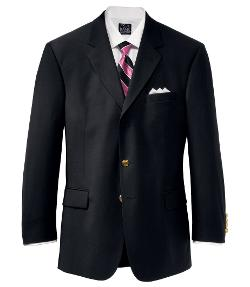 Jos A. Bank - Black Suit Jacket Portly