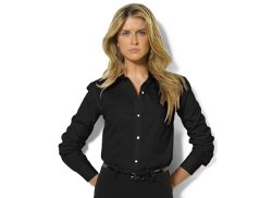 Lauren Ralph Lauren  - Long-Sleeve Poplin Shirt