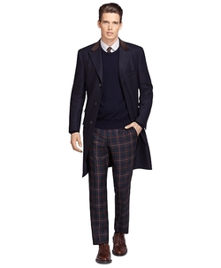 Brooks Brothers - Own Make Navy Chesterfield Coat