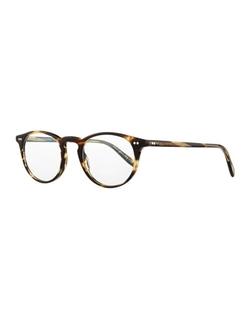 Oliver Peoples - Riley-R 47 Acetate Fashion Eyeglasses