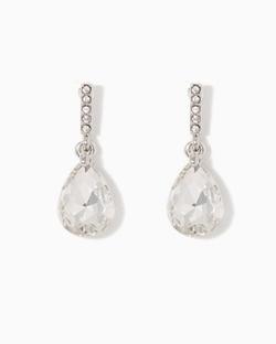 Charming Charlie - Pavé Drop Earrings