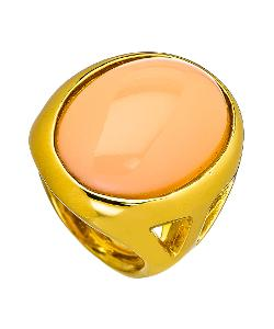 Kenneth Jay Lane  - Oval Angel Skin Cocktail Ring