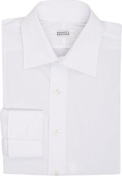 Barneys New York  - Poplin Dress Shirt
