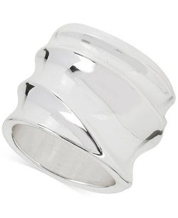 Robert Lee Morris - Soho Silver-Tone Sculpted Ring
