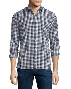 Burberry Brit  - Garrison Gingham Long-Sleeve Sport Shirt
