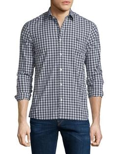 Burberry Brit  - Garrison Gingham Long-Sleeve Sport Shirt