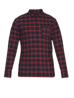 A.P.C. - Gab Checked Cotton Shirt