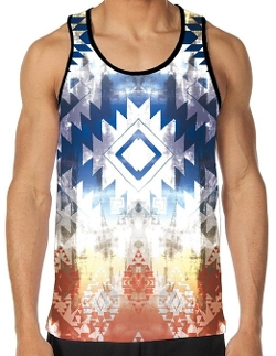 I Heart Raves - Ancient Visions All Over Print Rave Tank