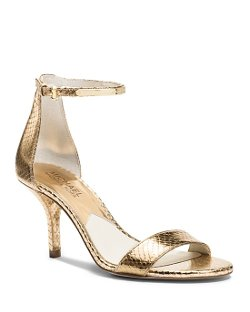 Michael Michael Kors  - Open Toe Ankle Strap Sandals