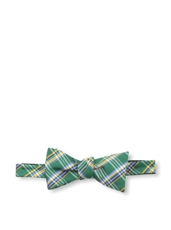 Countess Mara - Watson Plaid Self-Tie Bow Tie