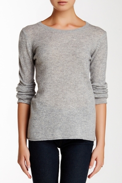Philosophy Cashmere  - Classic Crew Neck Cashmere Sweater