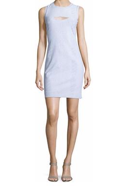 Nicole Miller - Sleeveless Bodycon Bandage Dress