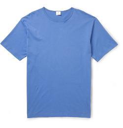 SUNSPEL   - Cotton-jersey Crew Neck T-shirt