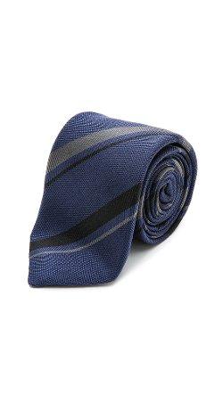 Alexander Olch - Striped Silk Necktie