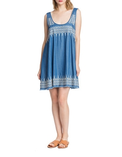 Plenty By Tracy Reese  - Flyaway Embroidered Dress