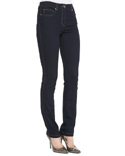 Escada   - Skinny-Leg Stretch-Denim Pants