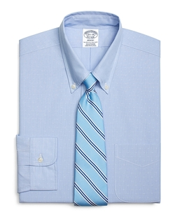 Brooks Brothers - Dobby Hairline Stripe Dress Shirt