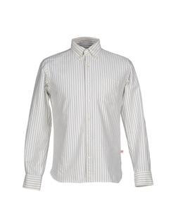 Head Porter Plus  - Long Sleeve Stripe Shirt