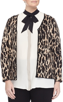 Marina Rinaldi - Mimo Animal-Print Jacket