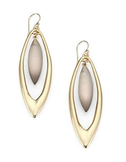 Alexis Bittar - Marquis-Shaped Drop Earrings