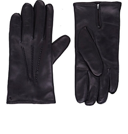 Barneys New York - Leather Gloves
