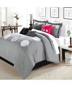 Chic Home  - Gamester Grey Comforter Bed