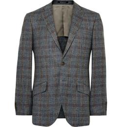 Richard James  - Seishin Slim-Fit Checked Blazer