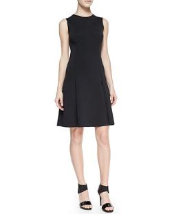 J Brand Ready to Wear  - Alexa Sleeveless Pleat-Skirt Dress