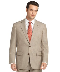 Brooks Brothers - Madison Fit Saxxon Pindot 1818 Suit