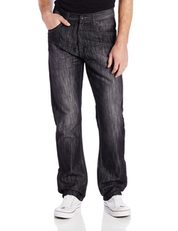 Southpole - Regular Straight Fit Shiny Streaky Jeans