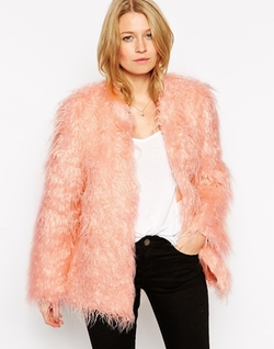 Rare - Faux Fur Jacket