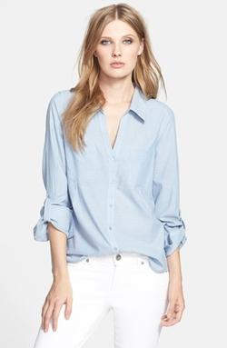 Joie  - Pocket Cotton Shirt