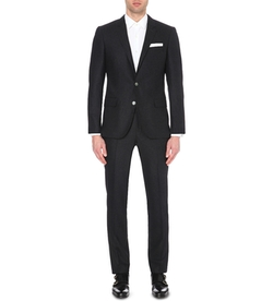 Hugo Boss - Regular-Fit Wool-Blend Suit
