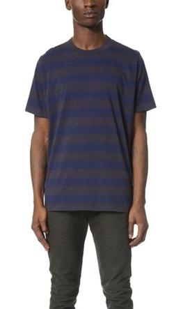 Paul Smith Jeans  - Oversized Stripe Tee