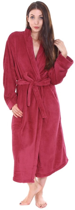 Simplicity - Plush Bathroom Robe